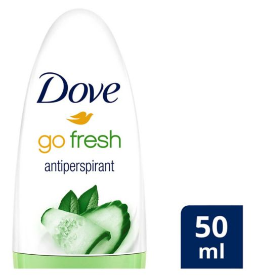 Dove Go Fresh Cucumber Roll On 50ml