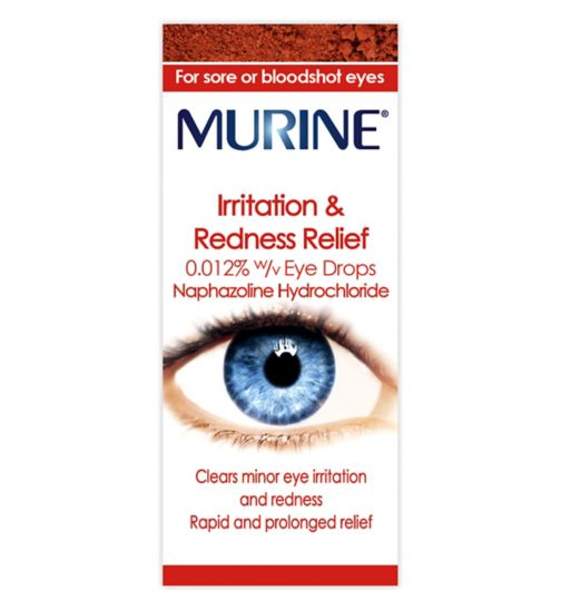 Murine Irritation & Redness Relief Eye Drops - 10ml
