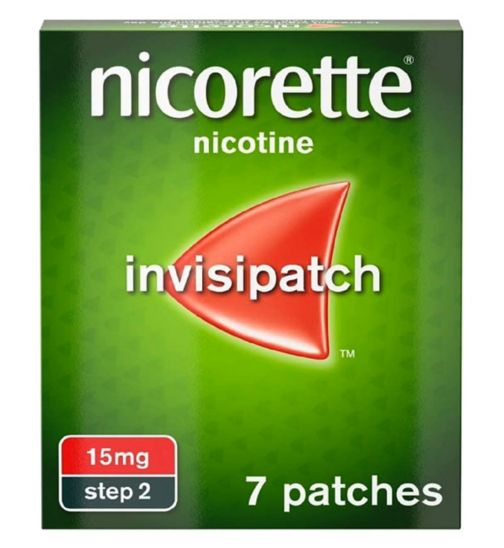 Nicorette Invisi 15mg Patch  - 7 patches