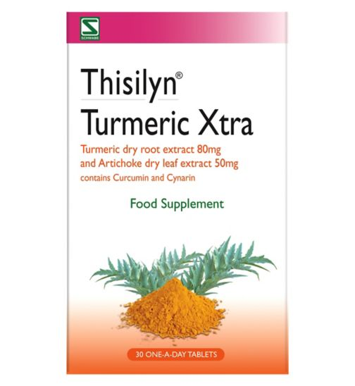 Turmeric Xtra Food Supplement 30 One-a-Day Tablets
