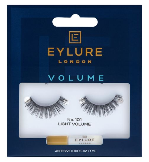 Eylure Naturalites False Eyelashes - Volume Plus (101)
