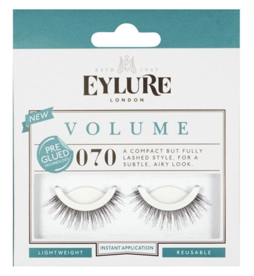 Eylure Pre-glued Ready to Wear False Eyelashes 070