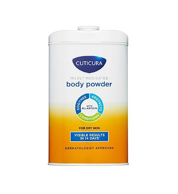 Cuticura Mildly Medicated Talcum Powder 250 g