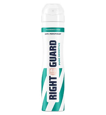 Right Guard Women Total Defence 5 Unscented 48H High-Performance Anti-Perspirant Deodorant 250ml