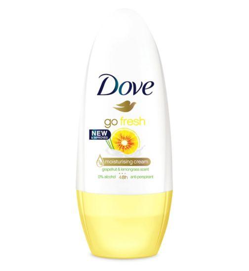 Dove Go Fresh Grapefruit Anti-perspirant Deodorant Roll On 50ml