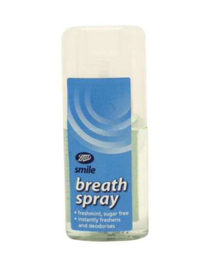 Boots Smile Fresh Breath Spray 20ml
