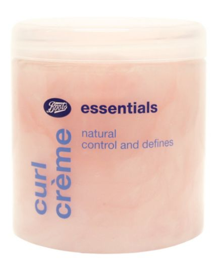 <p>Boots Essentials Curl Creme 250ml</p>