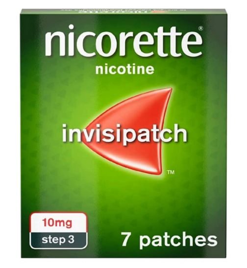 <p>Nicorette Invisi 10mg Patch - 7 patches