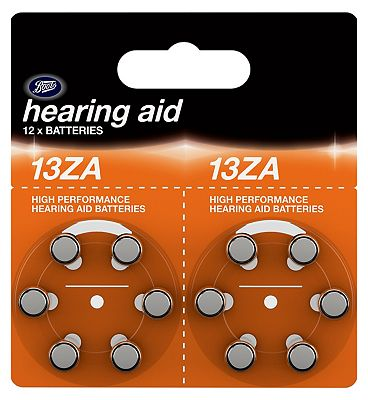 Boots 13ZA Hearing Aid Batteries  12 pack