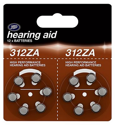 Boots 312ZA Hearing Aid Battery  12 batteries
