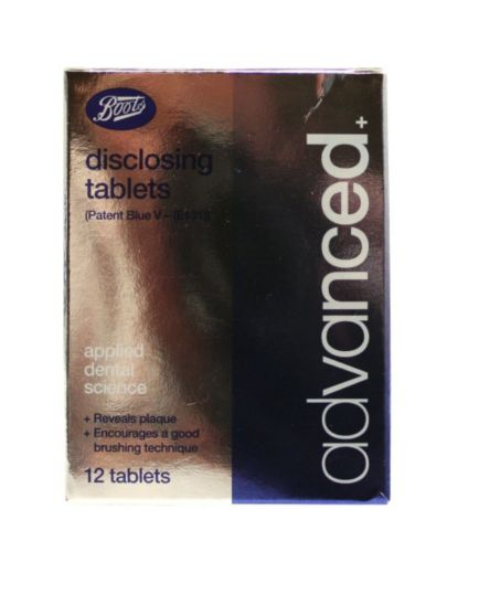 Boots Advanced + Disclosing Tablets 12 Pack
