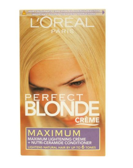 L'Oréal Perfect Blonde Crème Maximum