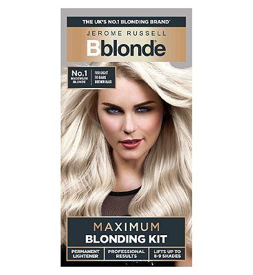 Jerome Russell Bblonde Maximum Blonding Kit No. 1