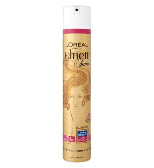 L'Oreal Elnett Very Volume Extra Strength Hairspray 400ml