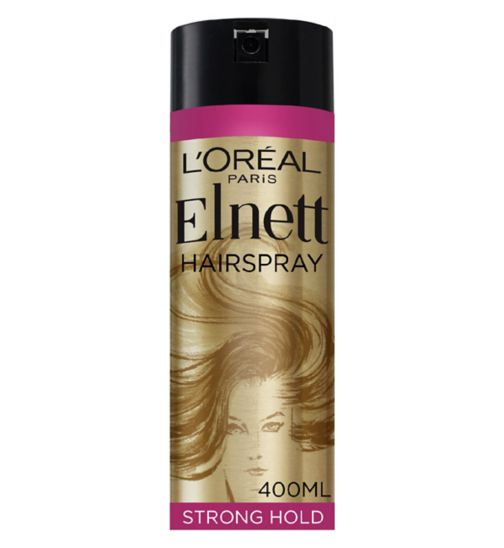 L'Oréal Elnett Very Volume Supreme Hold Hairspray 400ml