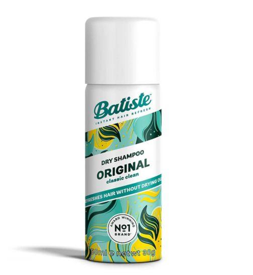 Batiste On The Go Dry Shampoo 50ml