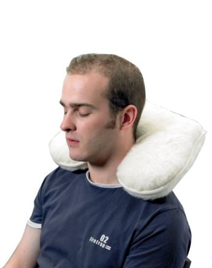 <p>Homecraft Wool Pile Neck Support Cushion</p>