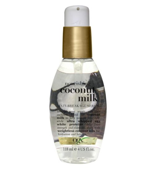 OGX Nourishing Coconut Milk Anti-Breakage Serum 118ml