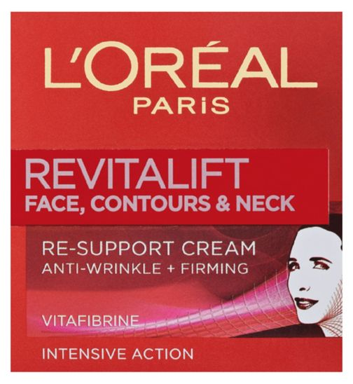 L'Oréal Paris Revitalift Face Contours and Neck Re-Support Cream 50ml