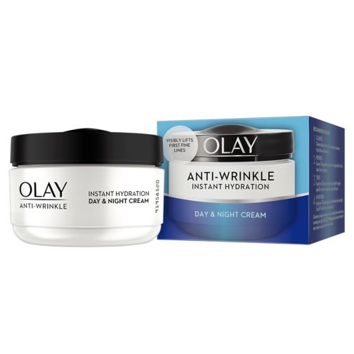 Olay Anti-Wrinkle Instant Hydration Moisturiser Day Cream 50ml