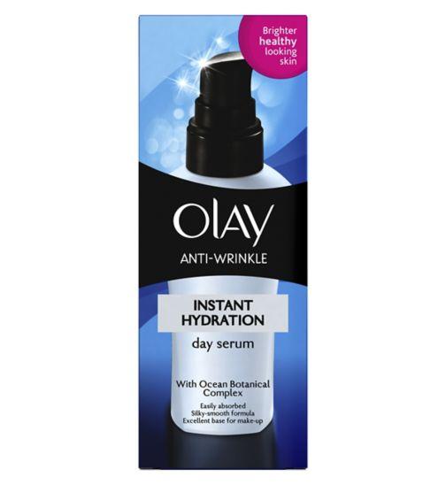 Olay Anti-Wrinkle Instant Hydration Moisturiser Day Serum 50ml