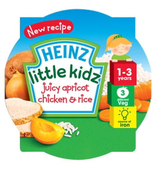 Heinz 1-3 Years Little Kidz Juicy Apricot Chicken & Rice 230g