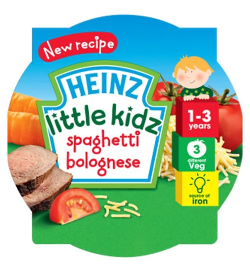 Heinz 1-3 Years Little Kidz Spaghetti Bolognese 230g