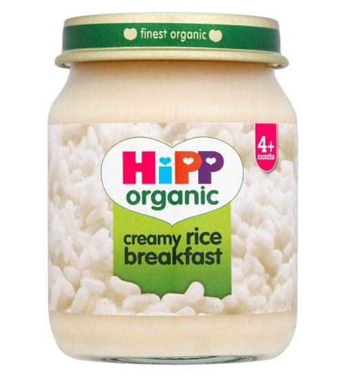 HiPP Organic Creamy Rice Breakfast 4+ Months 125g