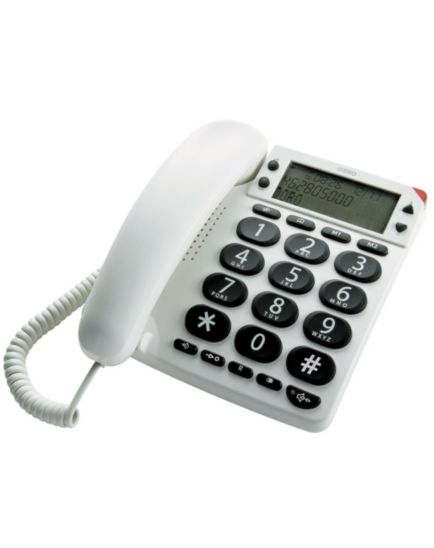 Homecraft Telephone Phone Easy Display