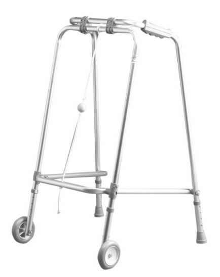 Homecraft Wheeled Folding Walking Frame