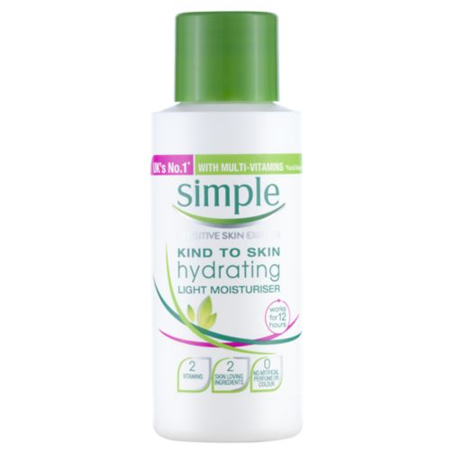 Simple Kind to Skin Hydrating Light Moisturiser 50ml