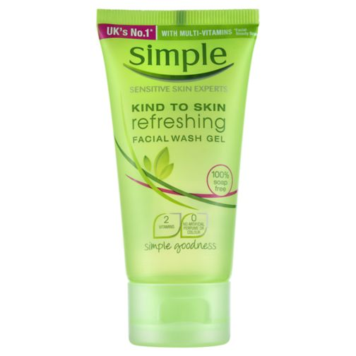 Simple Kind To Skin Refreshing Facial Wash Gel 50ml