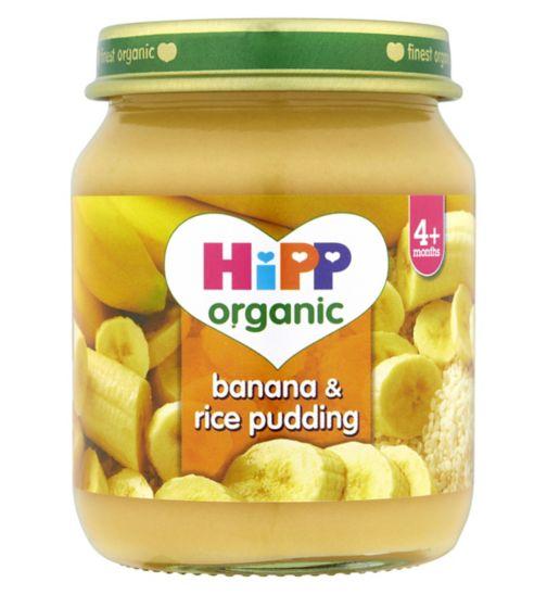 HiPP Organic Banana & Rice Pudding 4+ Months 125g