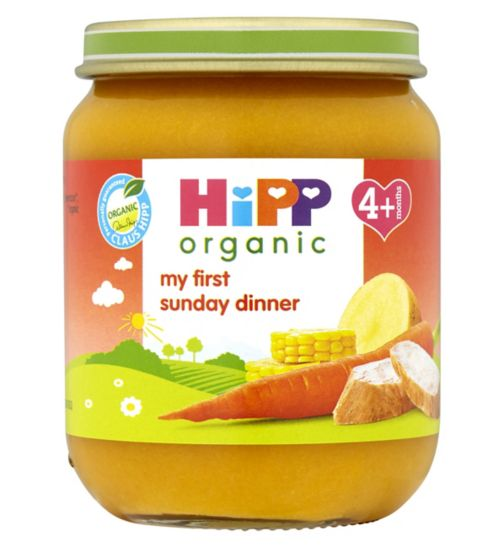 Hipp Organic My First Sunday Dinner 4+ Months 125g