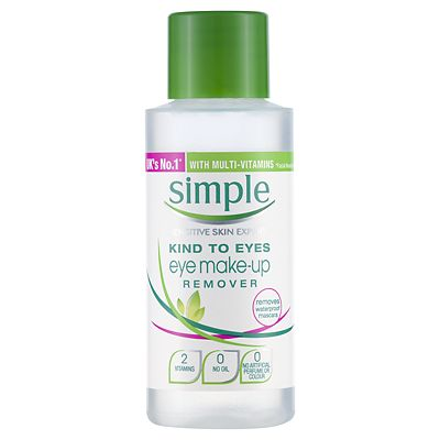 Simple Conditioning Eye Makeup Remover 50ml