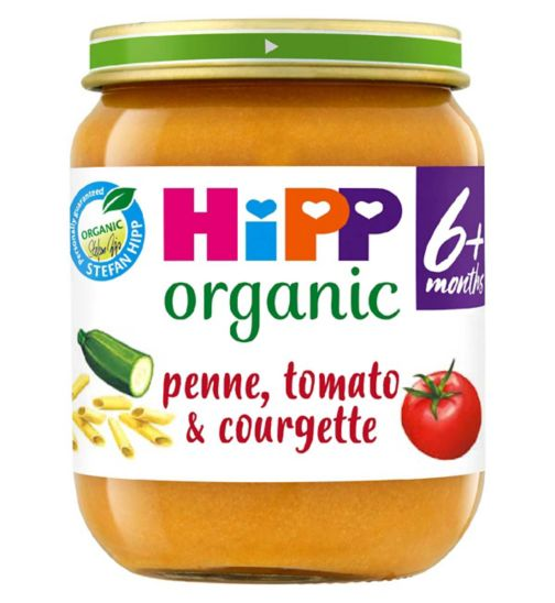 HiPP Organic Penne with Tomato & Courgette 6+ Months 125g