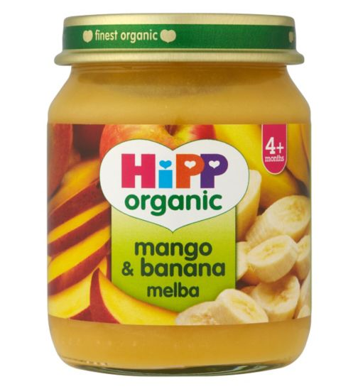 HiPP Organic Mango & Banana Melba 4+ Months 125g