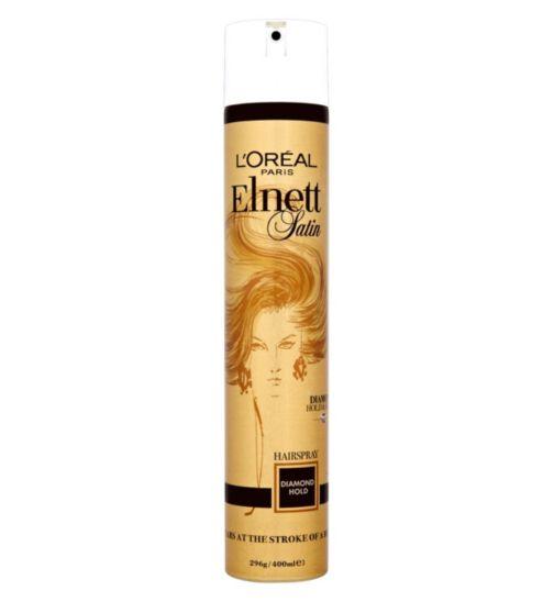 L'Oréal Elnett Diamond Hold Hairspray 400ml