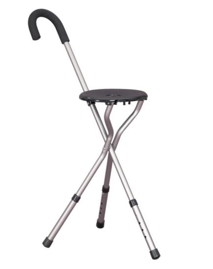 Homecraft Height Adjustable Tripod Stick Seat