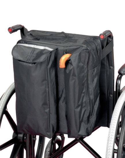 Homecraft Wheelchair Bag with Crutch Pocket
