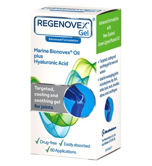 <p>Regenovex Fast Acting Gel - 40ml</p>