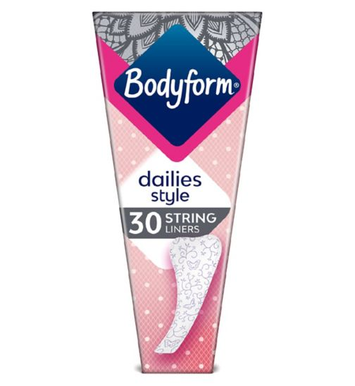 Bodyform Daily Fresh Liners String x30