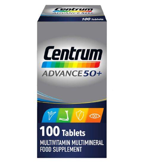 Centrum Advance 50+ - 100 tablets