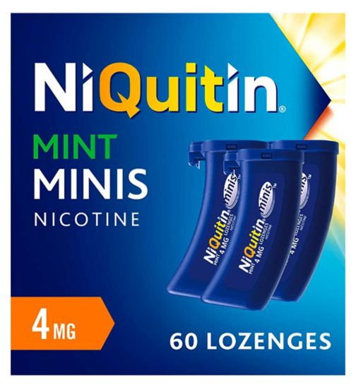 NiQuitin Mini's 4mg - 60 Lozenges