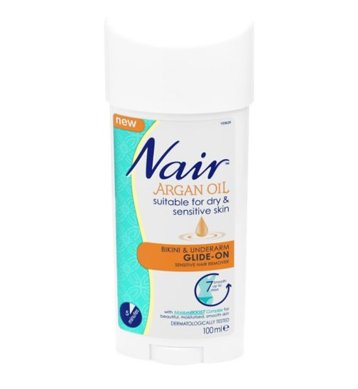Nair Sensitive Formula Glide-On Hair Remover Cream 100ml