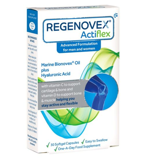 Regenovex Capsules / One-A-Day / Food Supplement /30 Capsules