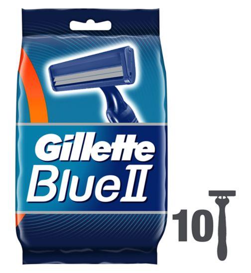 Gillette Blue II Razors 10 pack