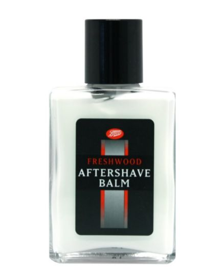 Boots aftershave balm freshwood