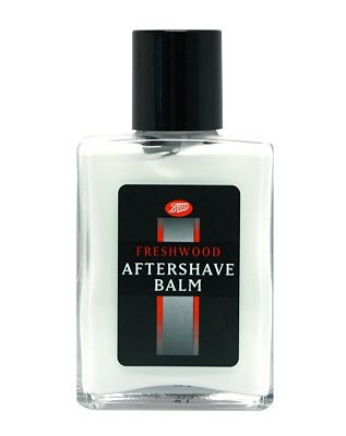 Image of Boots aftershave balm freshwood