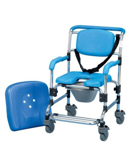 Homecraft Ocean Shower Commode Chair - Attendant